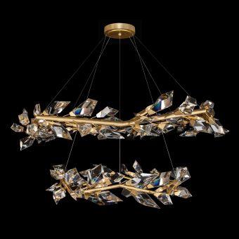 Fine Art Lamps Foret Pendant - 909140-2ST