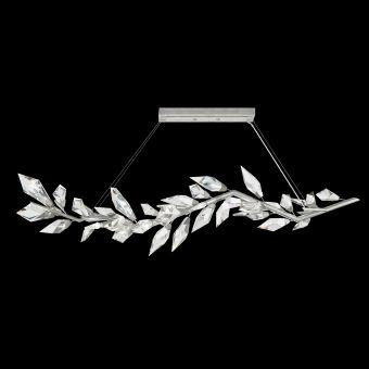 """Fine Art Foret 72"""" Linear Pendant in Silver - 914640-1"""