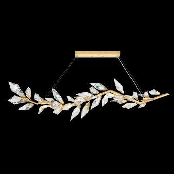 "Fine Art Foret 72"" Linear Pendant in Gold - 914640-2"