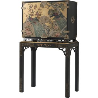 Theodore Alexander Althorp Living History Peacock Cabinet