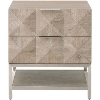 Essentials For Living Atlas 2-Drawer Nightstand