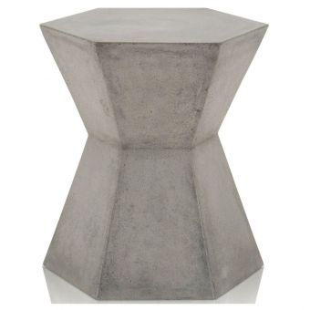 Essentials For Living District Bento Accent Table - Slate Gray