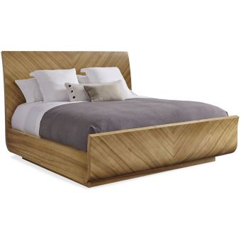 Caracole Classic To Be Veneer You Bed King Natural (CL1A) - CLEARANCE SALE