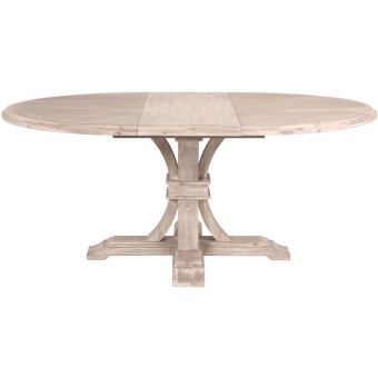 """Essentials For Living Traditions Devon 54"""" Round Extension Dining Table"""