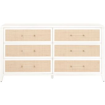 Essentials For Living Traditions Holland Double Dresser Matte White