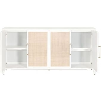 Essentials For Living Traditions Holland Media Sideboard Matte White