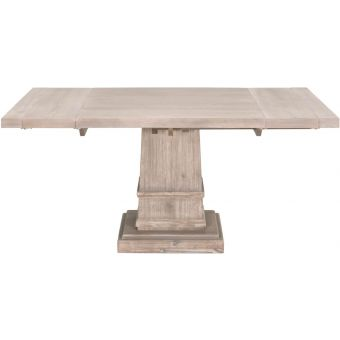 """Essentials For Living Traditions Hudson 44"""" Square Extension Dining Table"""