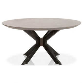 """Essentials For Living District Industry 60"""" Round Dining Table - Ash"""