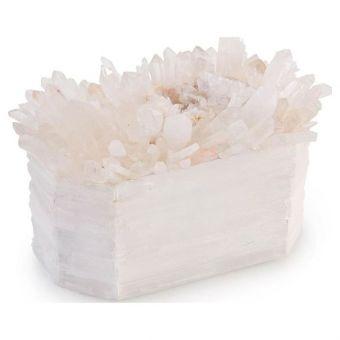 John Richard Crystals on White Box