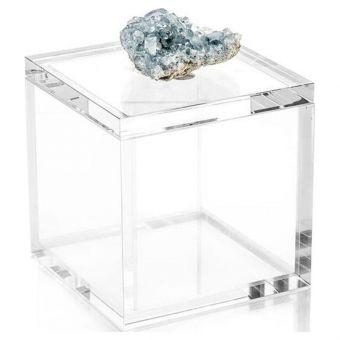 John Richard Crystal Celestite Box