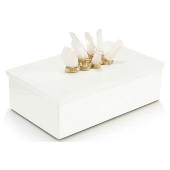 John Richard Crystal Adornment White Box