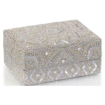"""John Richard Hand-Beaded Box I - 8.25"""""""