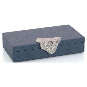 John Richard Gypsy Blue Leather Box II