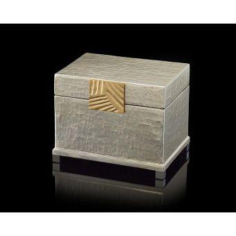 John Richard Silver-Leaf and Brass Box