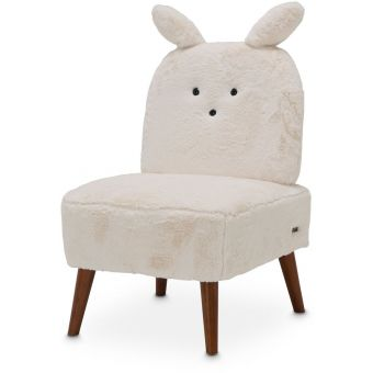 AICO Michael Amini Kathy Ireland A La Carte Illusions Bunny Armless Chair