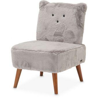 AICO Michael Amini Kathy Ireland A La Carte Illusions Kitten Armless Chair