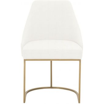 Essentials For Living Traditions Parissa Dining Chair in Gold - Set of 2
