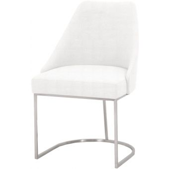 Essentials For Living Traditions Parissa Dining Chair in Pearl - Set of 2