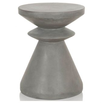 Essentials For Living District Pawn Accent Table - Slate Gray