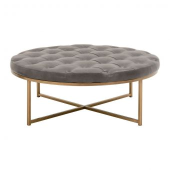 Essentials For Living District Rochelle Upholstered Coffee Table