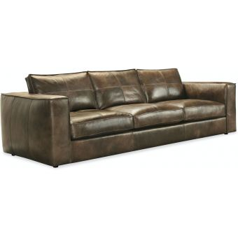 Hooker Furniture Solace Leather Stationary Sofa