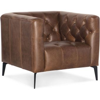 Hooker Furniture Nicolla Leather Stationary Chair