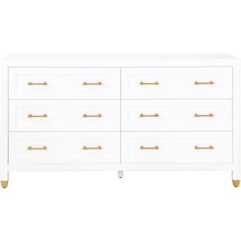 Essentials For Living Traditions Stella 6-Drawer Double Dresser