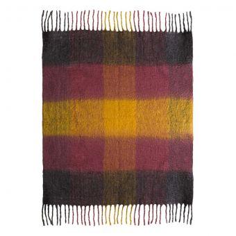TOV Furniture Afrino Wool Colored Throw
