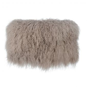 TOV Furniture Tibetan Sheep Sandy Brown Long Pillow