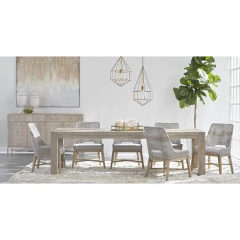 Essentials For Living Traditions Adler 7pc Extension Dining Table Set