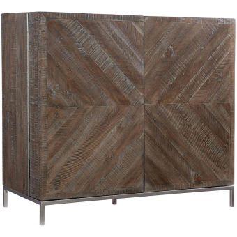 Bernhardt Furniture Loft Logan Square Parkside Bar Cabinet