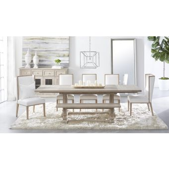 Essentials For Living Traditions Hudson 7pc Rectangle Extension Dining Table Set