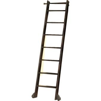 Parker House Grand Manor Palazzo Museum Ladder in Black