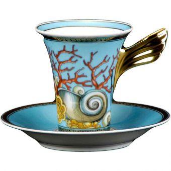 Versace La Mer High Cup, 6 ounce