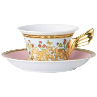 Versace Butterfly Garden Low Cup, 7 ounce