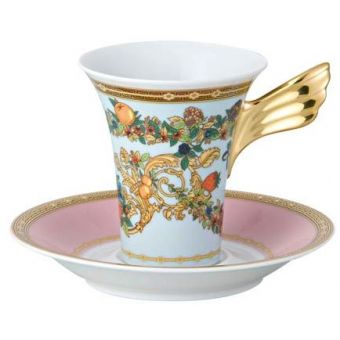 Versace Butterfly Garden A.D. Cup, 3 ounce