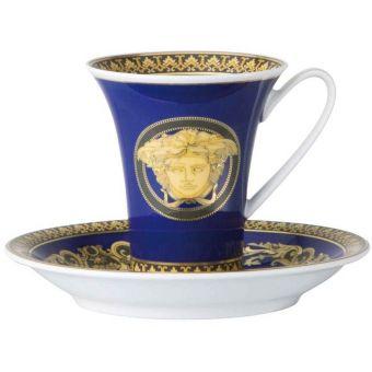 Versace Medusa Blue A.D. Cup, 3 ounce