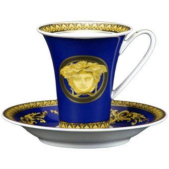 Versace Medusa Blue High Cup, 6 ounce