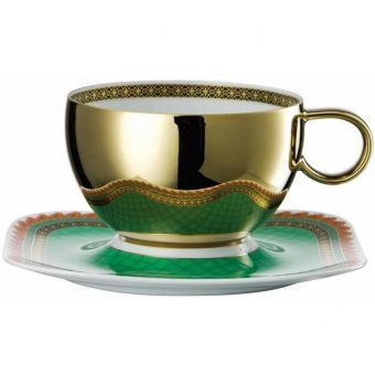 Versace Marco Polo Breakfast Saucer, 7 1/2 inch