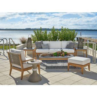 Universal Furniture Coastal Living Outdoor Chesapeake Sofa Set