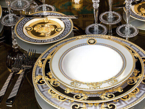 Luxury Dinnerware by Rosenthal Versace Collection